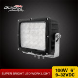100W IP68 Super Bright LED Work Light para engenharia