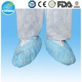 Cubierta del zapato no tejida con la suela de punto no deslizante (TS01B)