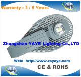 Luz de calle del vatio LED de la venta 100 de Yaye 18 luz de calle/del vatio calientes LED de la MAZORCA 100 con la garantía de los años Ce/RoHS/3