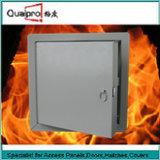 電流を通された鋼鉄灰色カラー火の評価されるアクセスパネルの引窓AP7110