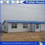 Casa prefabricada modular móvil del edificio de la asamblea rápida del material de construcción ligero de la estructura de acero