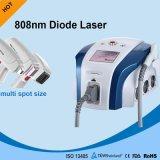 El laser del diodo del enfriamiento por contacto para el pelo reduce