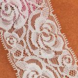 Testo fisso decorativo del merletto del poliestere all'ingrosso per il vestito da cerimonia nuziale