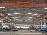 Almacén industrial prefabricado constructivo de la estructura de acero del metal del marco del aguilón