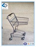 Тележки вагонетки корзины нажима руки супермаркета