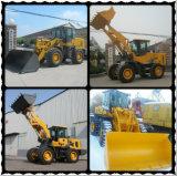 Hzm936 3 톤 건축기계 물통 프런트 엔드 바퀴 로더