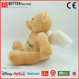 EN71 lindo ángel de la guarda suave oso de juguete