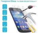 2.5D Toebehoren van de Telefoon van de AntiSchok van de Beschermer van het Scherm van de Film van het Glas van de boog ontruimen de Japanse Aangemaakte 9h Mobiele Volledige Dekking voor Samsung S7582