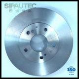 rotor de frein à disque de fer de 280 millimètres pour Nissans (402062Y502)
