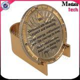 Antigüedad de encargo Bitcoin grabado de sellado de plata del metal para la venta