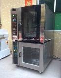 Печь выпечки конвекции горячих подносов сбывания 5 электрическая с 10 подносами Proofer