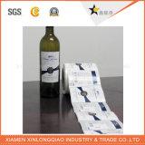Impression d'étiquette auto-adhésif autocollant imprimé des étiquettes de bouteille de papier autocollant