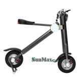 E-Scooter pliable en gris de couleur haut de gamme 36V
