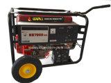 Generador de gasolina de ruedas y mango Powered by Original MOTOR HONDA GX390