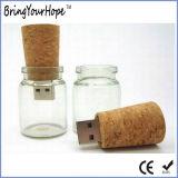 유리병 USB 섬광 드라이브 (XH-USB-111)