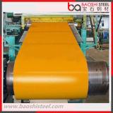 Acero galvanizado sumergido caliente prepintado Coil/PPGI