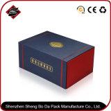 Regalo de papel rectangular Caja de té con Logo bronceado