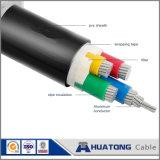 Алюминий/медный кабель электричества проводника изолированный XLPE