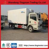 5-10 camion de cadre de réfrigérateur de Sinotruk HOWO de tonne