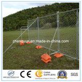 Cerca temporal de la seguridad del perímetro de los emplazamientos de la obra (fábrica)