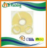 Claro de alta resistencia y Brown BOPP pila de discos la cinta adhesiva