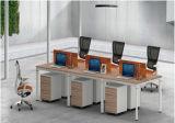 現代様式の優れたスタッフの区分ワークステーション事務机(PR-035)
