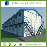 강철 프레임 목제 집 간단한 별장 집 고각 디자인