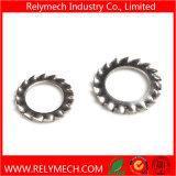 Rondelle de freinage dentelée par DIN6798A d'acier inoxydable avec les dents externes