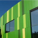 Le bambou vert aluminium Panneau alvéolé pour façade en aluminium