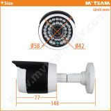 Mini kabeltelevisie Security Bullet Camera van Size Waterproof IP66 30m IRL HD (mvt-AH15)