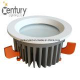 새로운 디자인 고성능 95mm 배기판 COB/SMD 15W 실내 LED 천장 빛