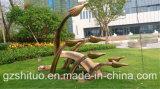 자유로운 비행, 옥외 정원 조각품 훈장, 유리 섬유는 소성 물질을 강화했다