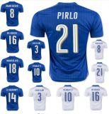 16枚の17人のヨーロッパ人のコップの安いカスタム卸し売り昇華させた確実なフットボールのワイシャツ/サッカージャージー