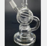 tubo di vetro 9-Inch che ricicla filtro che ricicla tubo