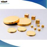 Diverse Vorm Gesinterde Magneet NdFeB met het Glanzen het Materiële Plateren van de Deklaag