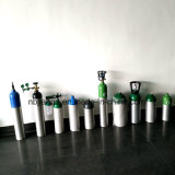 Hot Sale Medical / Industrial Alumínio de alumínio / Air / N2 / Cilindro de CO2 10L Diâmetro: 203mm