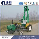 Hf100t 40-120m monté sur tracteur de forage pour l'eau