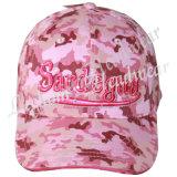 Construidos Caps Pink camuflaje caza de béisbol