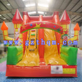 Rainforest Commercial Grade tobogán inflable con piscina grande