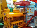 Petit Portable machine à fabriquer des blocs déplacement machine à briques caler la machine