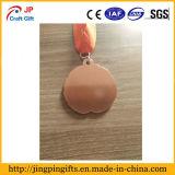 Médaille en alliage de zinc de sports personnalisée par qualité