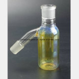 Gelbes Glaswasser-Rohr des Filter-Rauch-Sammlers, der Zubehör aufbereitet
