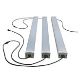 luz rayada helada 5700~6600lm del tubo de 60W LED Triproof impermeable
