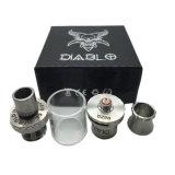 De e-Sigaret van de Tank van Diablo Verstuiver voor Damp met zwart-Blauwe Kleur (S-bij-068)