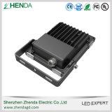 Receptor de papel al aire libre ultra delgado Pccooler del medio de la luz de inundación de 10W 20W 30W 50W 100W 150W 200W SMD LED IP65 Meanwell