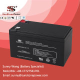 Bateria recarregável da fonte de alimentação à espera da bateria do UPS de 12V 7.2ah