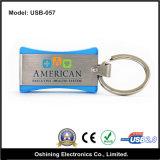 USB Disk su Key/USB Flash Disk con Keychain (USB-057)