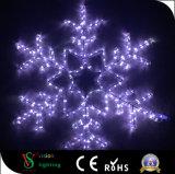 Im Freienled-Motiv-Weihnachtsbeleuchtung