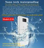 Nano resistente al agua con el Banco de potencia de gran capacidad de entrada de tipo C (Z10)