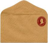 Высокое качество изготовленный на заказ<br/> коричневый Craft Конверт 97